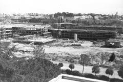 1959 11 giugno Cntiere  per il villaggio Olimpico davanti  al Ministero degli Esteri davanti al Coni