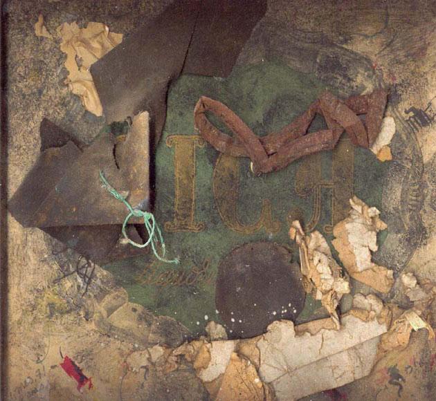 Assemblages: Baruchello, Birelli, Cesarini Sforza, Durkee, Kleer, Kurhajec, Meo, Oursler, Schloss, Turcato.