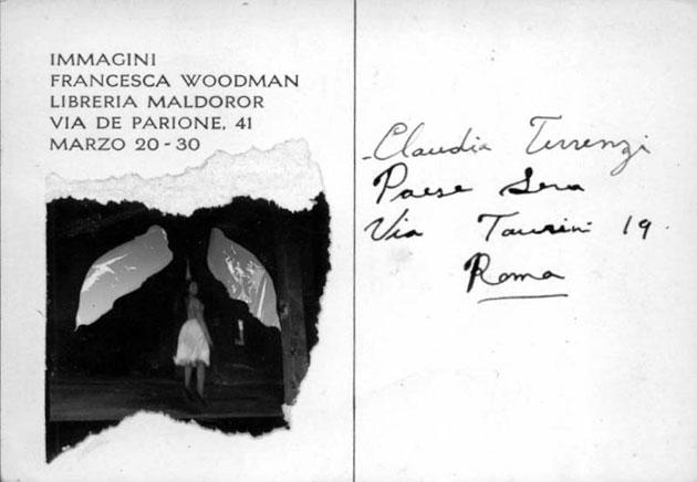 Francesca Woodman. Immagini.