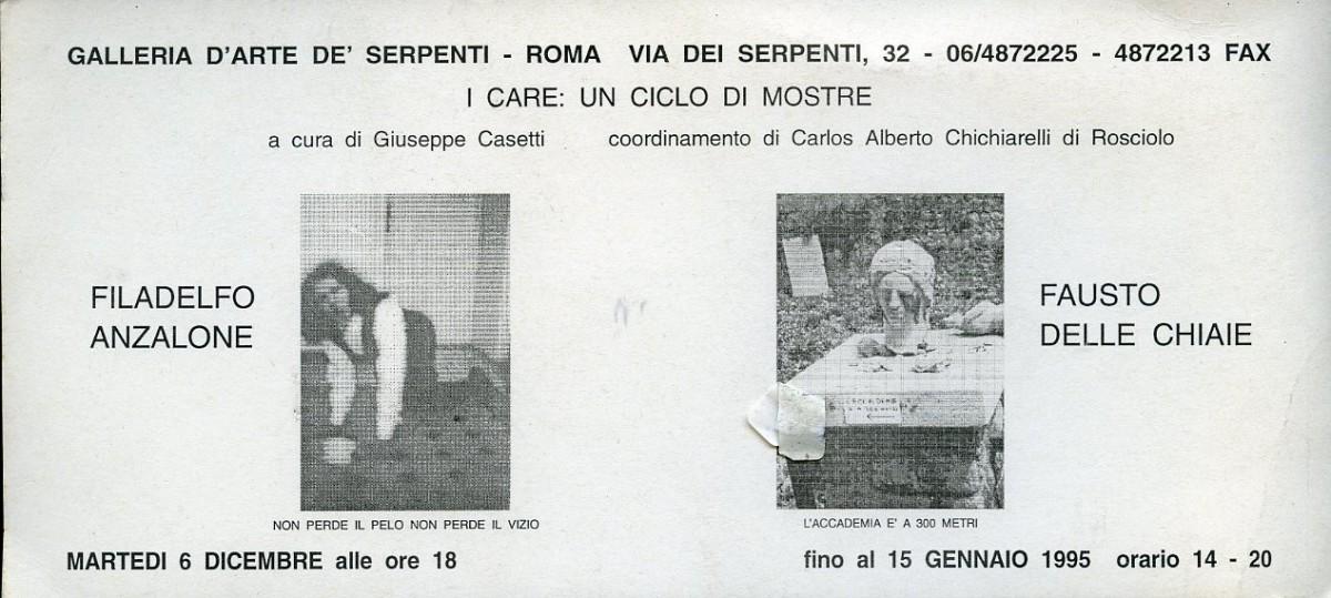 I CARE: Filadelfo Anzalone e Fausto delle Chiaie.