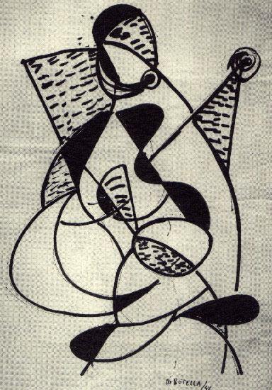 """Astratti e Figurativi """"Sessantesei disegni per Il Giornale della sera"""" (1946-1950)"""