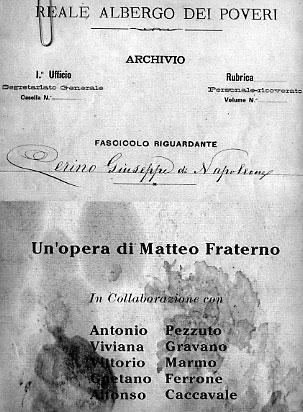 """Matteo Fraterno """"Cerino Giuseppe di Napoleone""""."""
