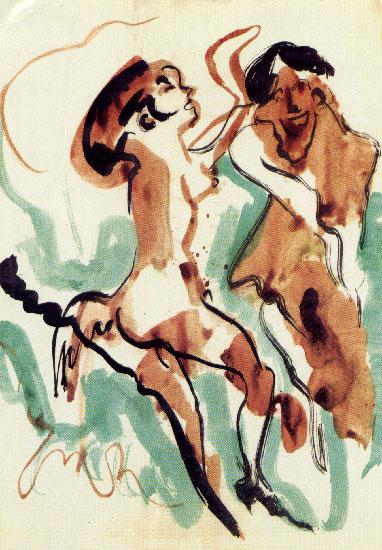 """Giovanni Stradone """"Sessantuno disegni erotici (1940-1970)""""."""