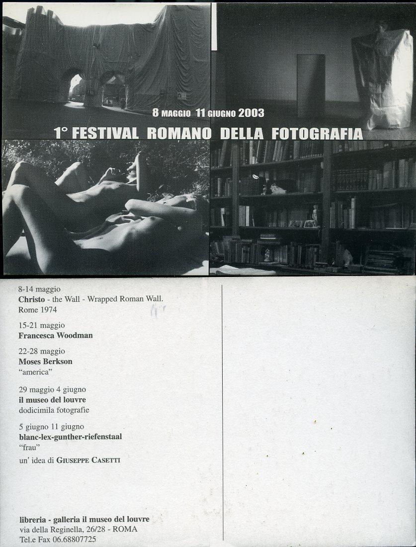 1°Festival Romano della Fotografia.