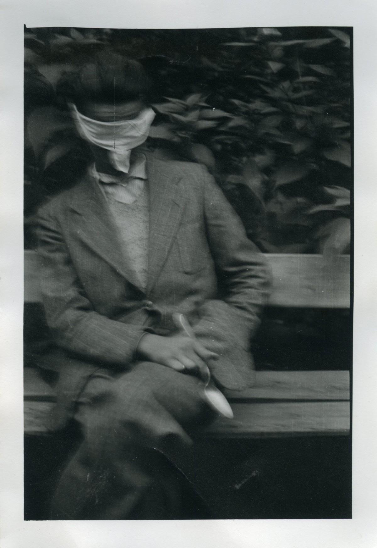 """""""Photo Trouvée"""" mostra permanente al museo del louvre di Roma."""
