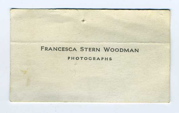 Francesca Woodman photographs 1977-1981