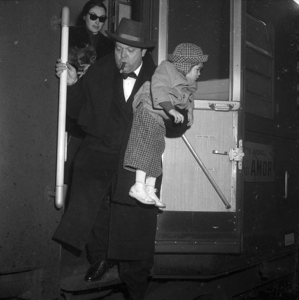 HOLLYWOOD SUL TEVERE. Materiali selezionati dall'archivio fotografico di ITALY'S NEWS PHOTOS di Guglielmo Coluzzi.