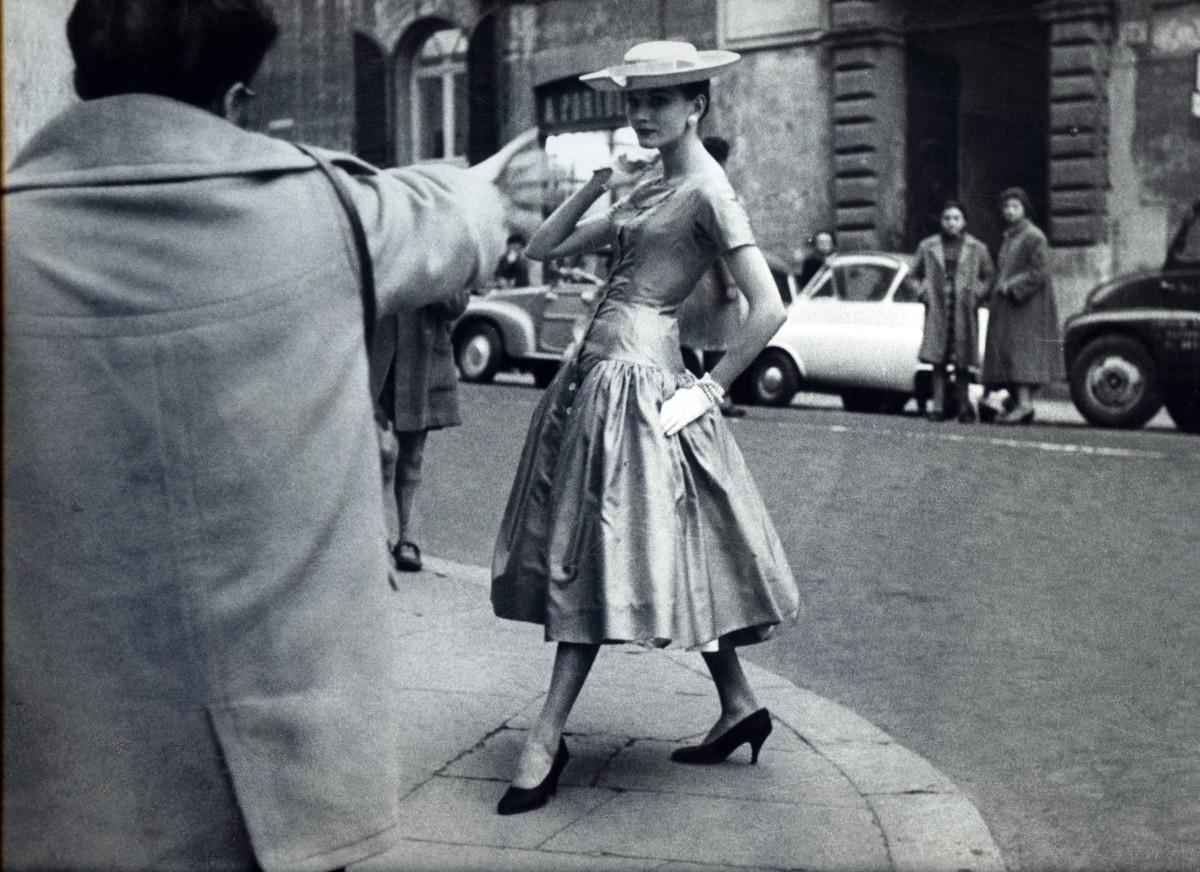 Roma 1950-1960. La moda e i suoi fotografi.