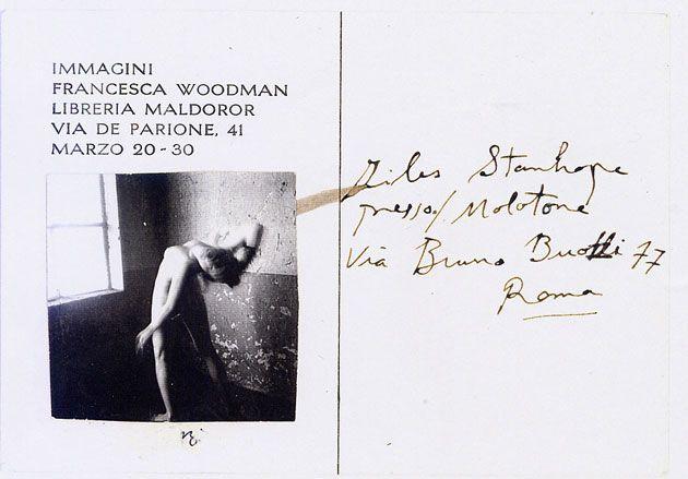 Francesca Woodman Immagini (#5). Roma, 1978