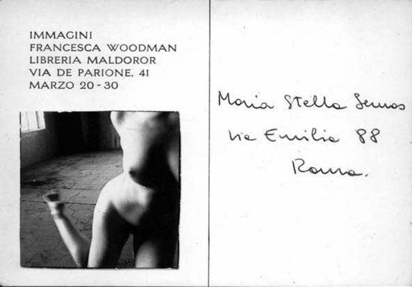 Francesca Woodman Immagini (#2). Roma, 1978