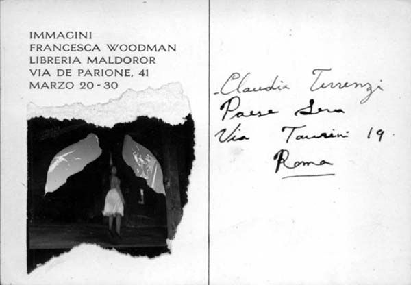 Francesca Woodman, Immagini. Roma 1978 (1#)