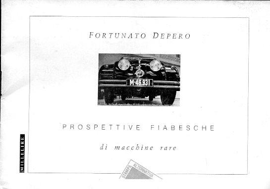 Fortunato Depero Prospettive fiabesche di macchine rare