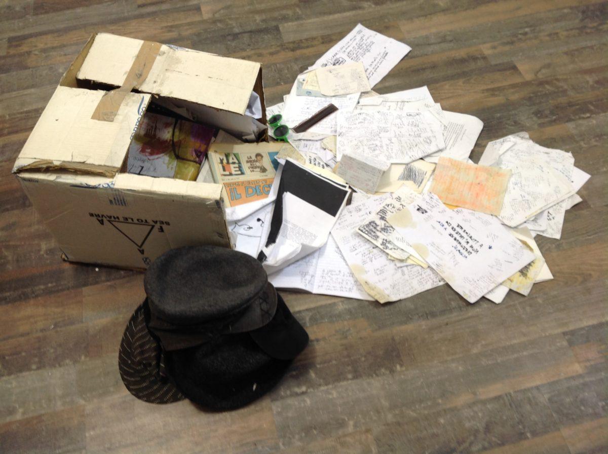 "Cosimo Angeleri ""louvre box innere intensa""."