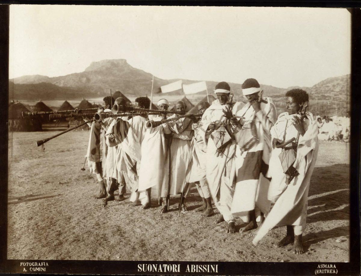 Alessandro Comini fotografo dell'Eritrea Coloniale