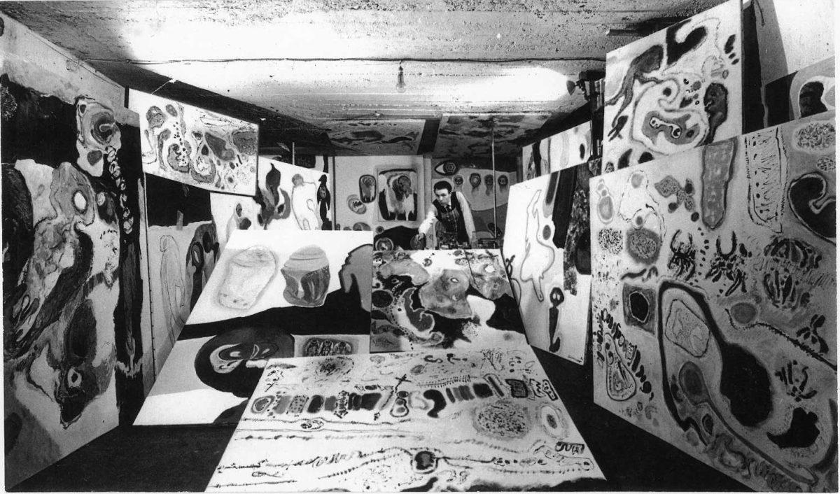 """Roberto Dionisio: giovane artista della""""Nuova generazione"""" a Roma (1959-1969)."""