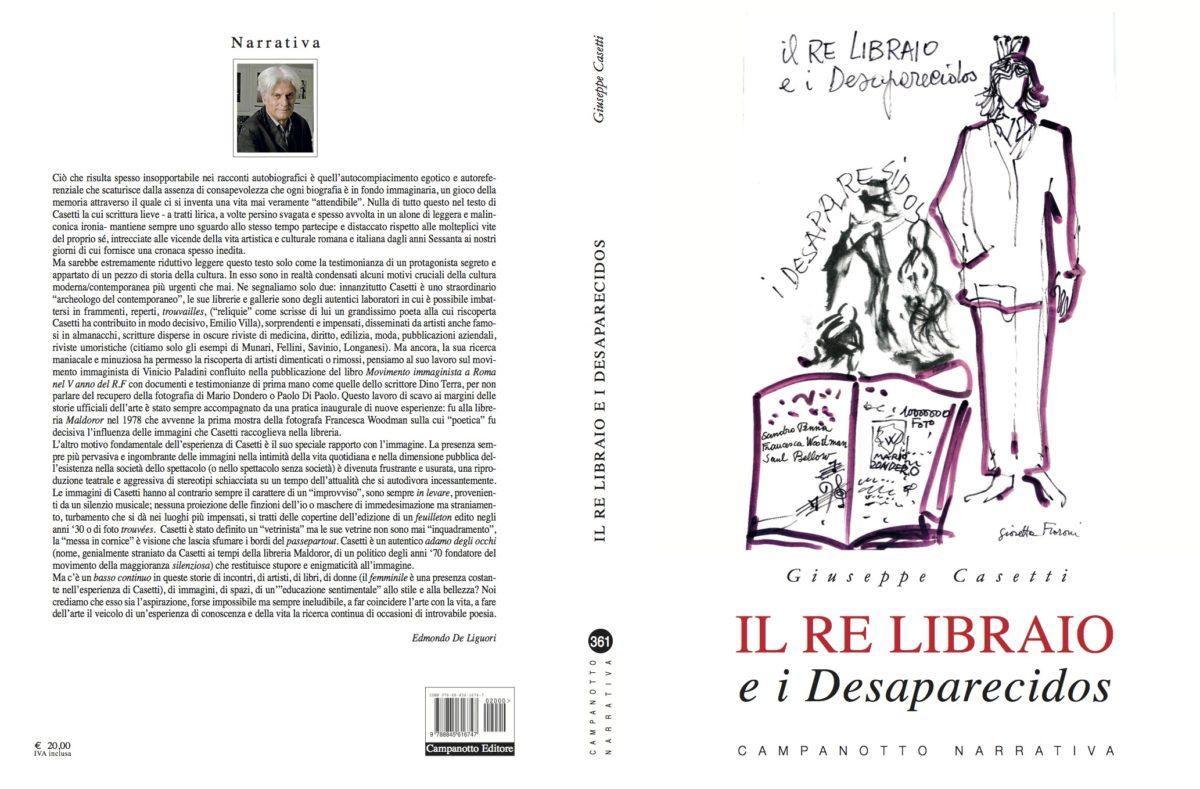 Il re libraio e i Desaparecidos di Giuseppe Casetti