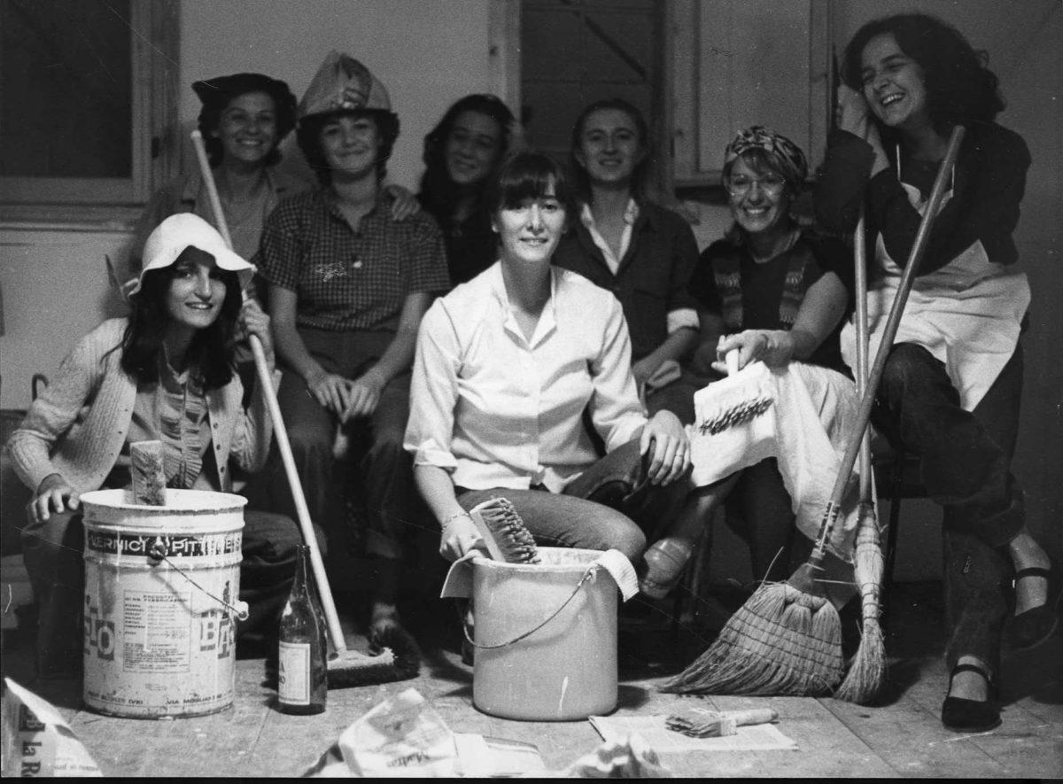Il movimento femminista e  lesbico a Roma 1974-1981