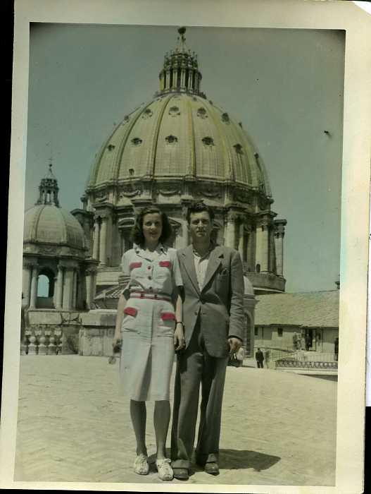 Giuseppe Casetti Roma alle spalle
