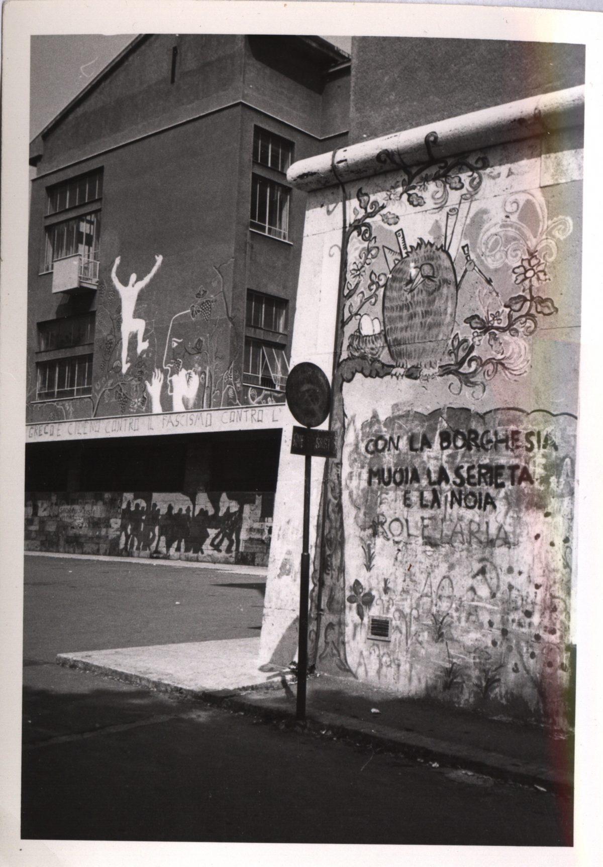 dalle scritte sui murial graffitismo